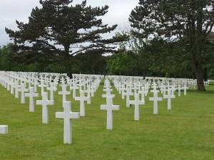 Gravestones of US soldiers