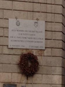 WWI Memorial in Rome