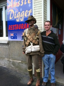 Bob makes a new friend in the Somme