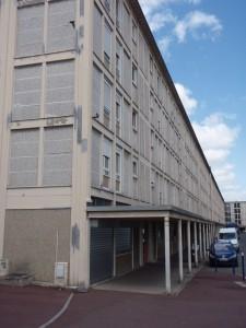 A view of the Cité de la Muette building