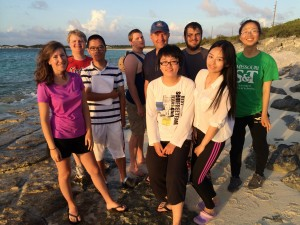 Final Lab Group Pic at Beach