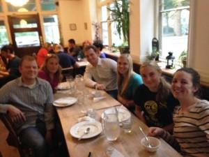 Students (l-r): Bryan Widener, Crystal Ford, Evan Carroll, Hayley Carroll, Madison Morris, and Audrey Hofherr