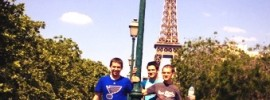 S&T students in Paris