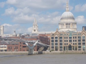 St. Paul's Cathedral and the Thames
